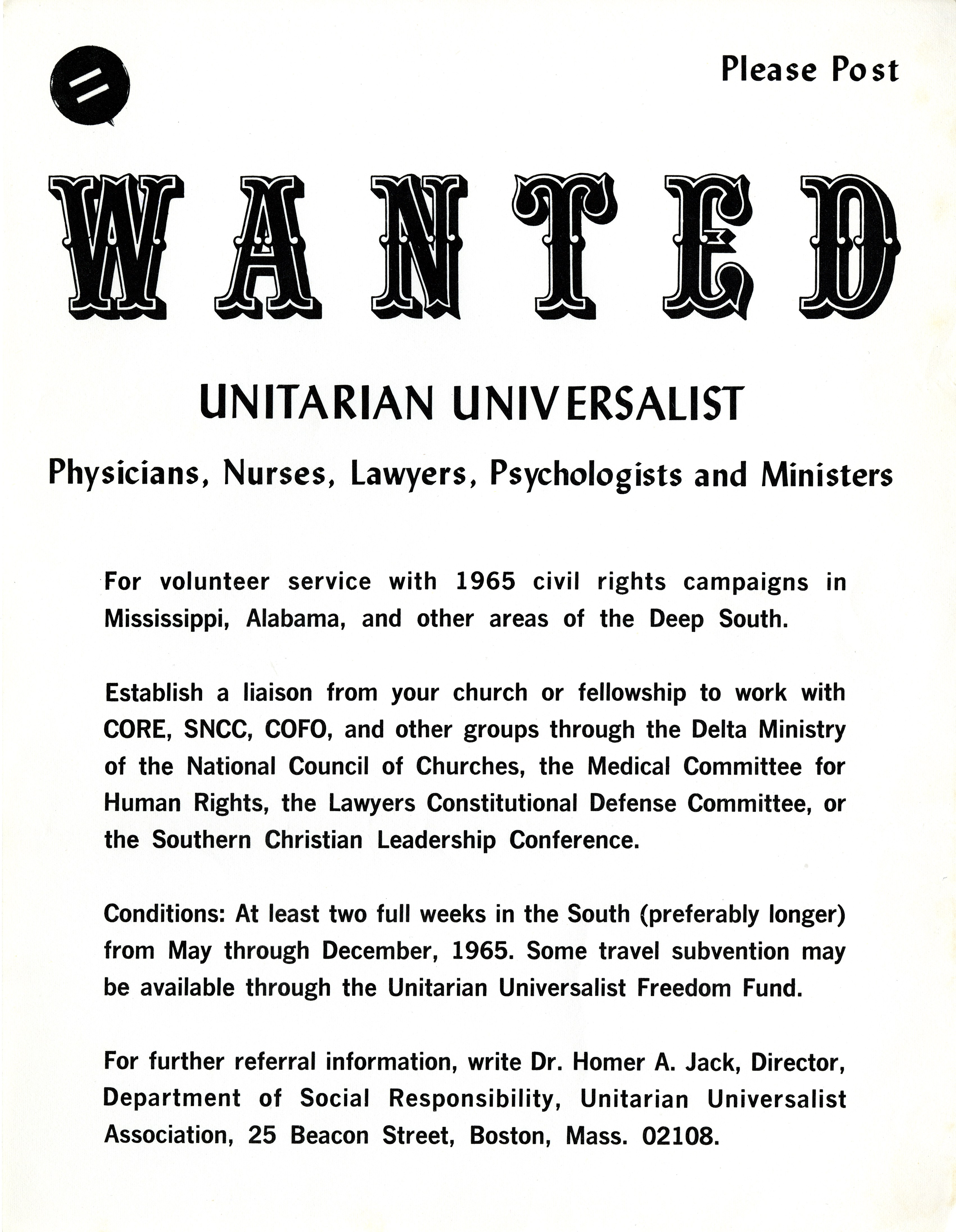 Campaign Update Archives Physicians For Social Responsibility >> Wanted Uu Physicians Nurses Lawyers Psychologists And Ministers